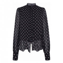 Blouse with flounces by Pepe Jeans London