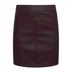 Skirt in leather-look by Pepe Jeans London