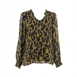 Patterned blouse by Signe Nature
