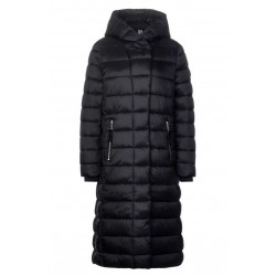 long asymmetrical padded coat by Street One