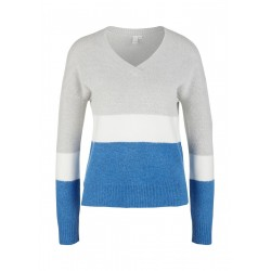 Sweater with V-neck by Q/S designed by