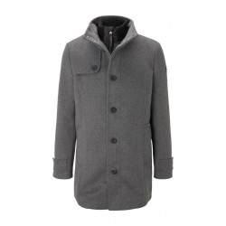 Stand-up collar coat by Tom Tailor
