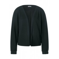 Shirt jacket with wide sleeves by Street One