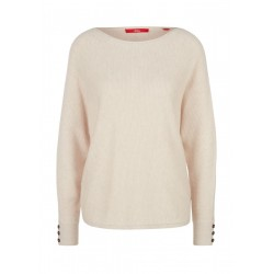 Sweater with waffle structure by s.Oliver Red Label