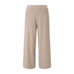 Soft knitted culotte trousers by Tom Tailor Denim