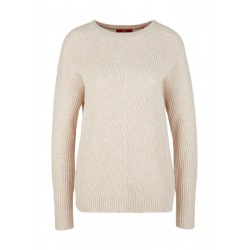 Ribbed jumper with wool by s.Oliver Red Label