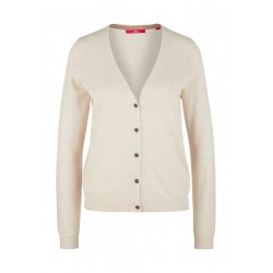 Cardigan with structured pattern by s.Oliver Red Label