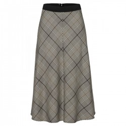 Glencheck Midi Skirt by More & More