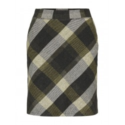 Checked mini skirt by Tom Tailor