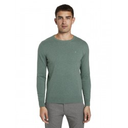 Pull tricoté simple by Tom Tailor