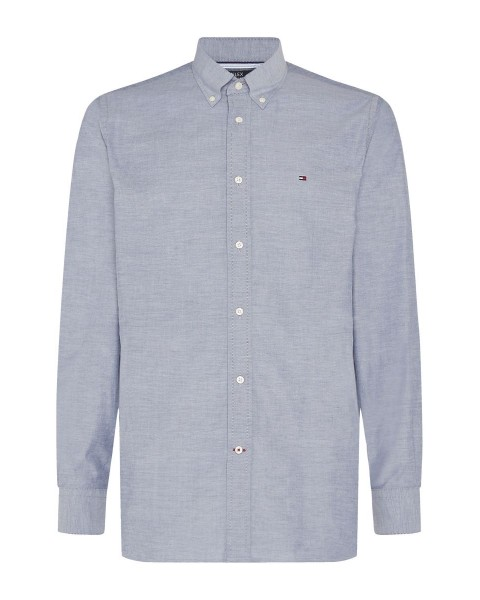 TH Flex Oxford shirt made of organic cotton by Tommy Hilfiger