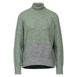 Pull à col roulé doux by Street One
