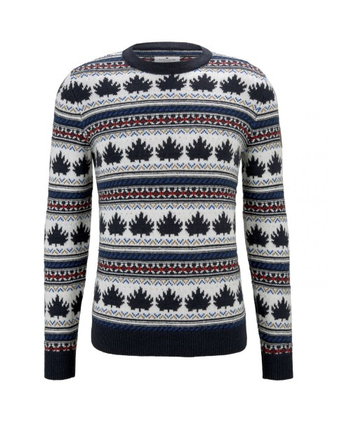 Patterned jacquard sweater by Tom Tailor