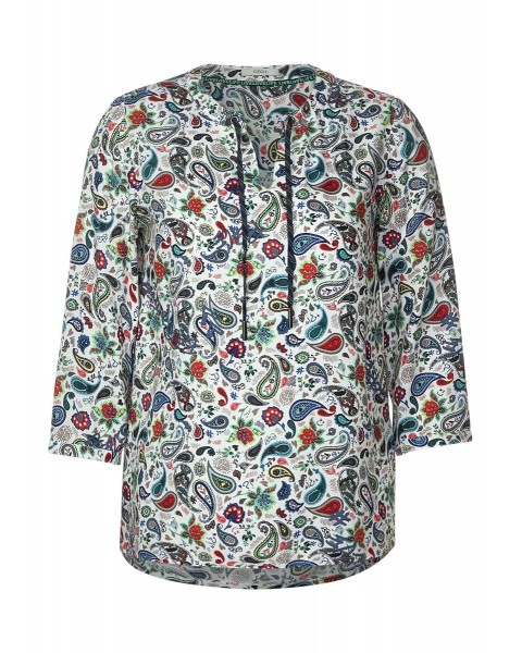 Paisley blouse by Cecil