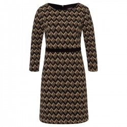 Jersey Jacquard Dress by More & More