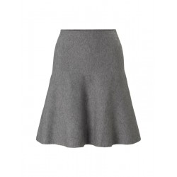 Knitted mini skater skirt by Tom Tailor Denim
