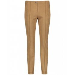 Stretchy slim fit trousers by Gerry Weber Edition