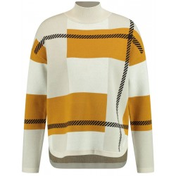 Abstract plaid sweater by Gerry Weber Collection