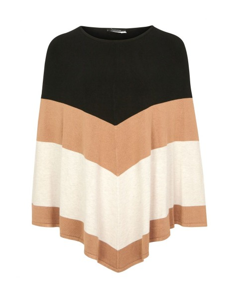 Fine knit poncho by Comma