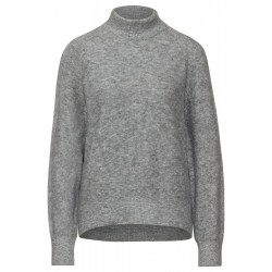 Soft turtleneck sweater by Street One
