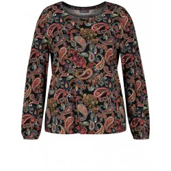 Shirt with paisley print by Samoon