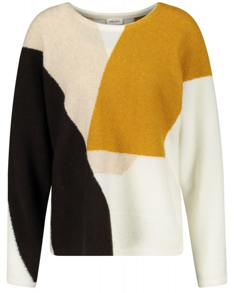 Patch look sweater by Gerry Weber Collection