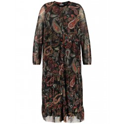 Tiered dress with paisley print by Samoon