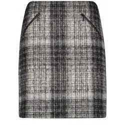 Checkered skirt by Gerry Weber Casual