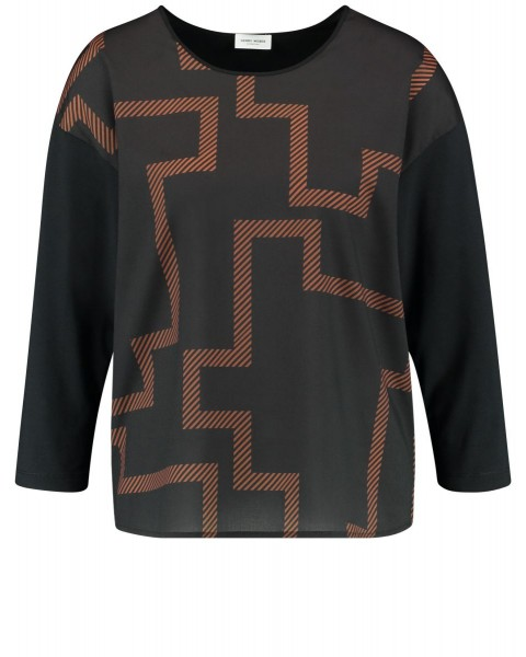 3/4 sleeve shirt made of jersey by Gerry Weber Collection