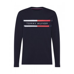 Long sleeve shirt made of organic cotton by Tommy Hilfiger