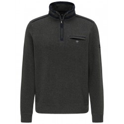 Sweater with chest pocket by Fynch Hatton