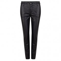 Trousers in leather-look by Esqualo