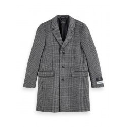 Wool mix coat by Scotch & Soda