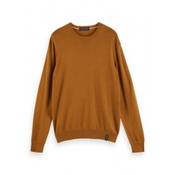 Sweater with round neck by Scotch & Soda