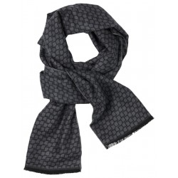 Scarf with structure pattern by Fynch Hatton