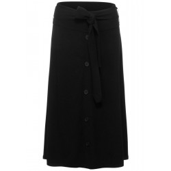 Knitted skirt with button facing by Street One