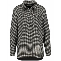 Blouse jacket with houndstooth pattern by Gerry Weber Collection