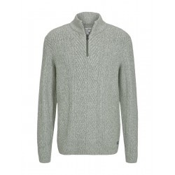 Pullover mit Strickmuster by Tom Tailor Denim