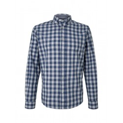 Regular Fit: chemise à manches longues by Tom Tailor