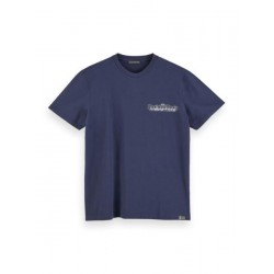 T-shirt with logo print by Scotch & Soda