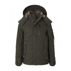 Hooded winter jacket by Tom Tailor
