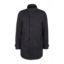 Short coat with neliert structure by s.Oliver Red Label
