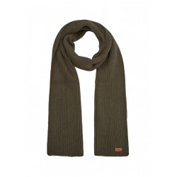 Ribbed knitted scarf by s.Oliver Red Label