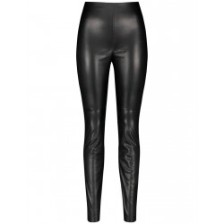 Body Fit: Imitation leather pants by Gerry Weber Collection