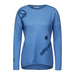 Cosy Artwork Pullover by Cecil