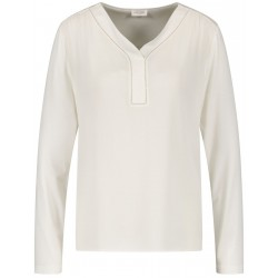 Long sleeve shirt with chain application by Gerry Weber Collection