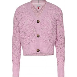 Cardigan in lambs wool by Tommy Jeans