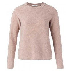 Wool blend rib sweater by Yaya