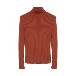 Turtleneck jumper made of organic cotton by Marc O'Polo