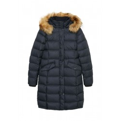 Down coat with detachable hood by Marc O'Polo
